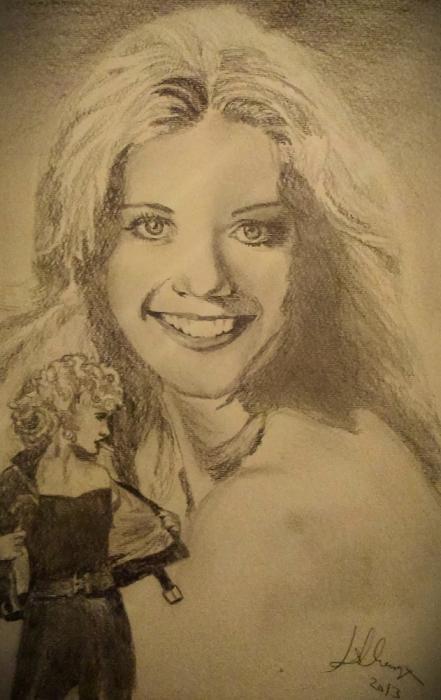 Olivia Newton-John by Lindasart
